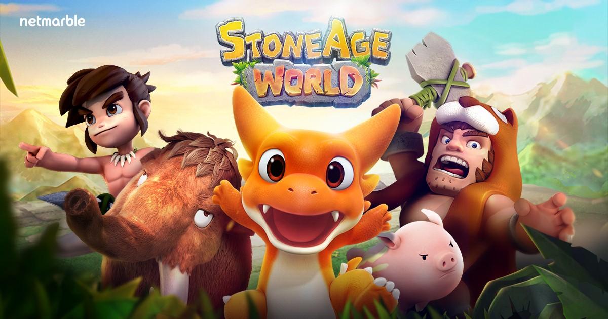 หยิบไม้มากระทบหิน แล้วผจญภัยสุดฟินไปกับ StoneAge World